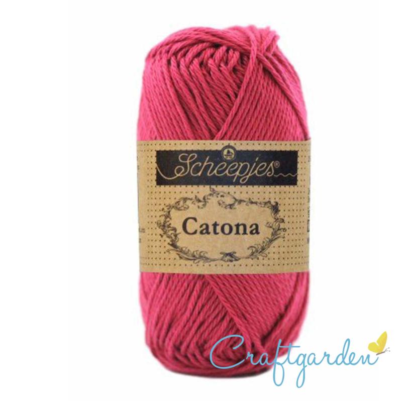 Scheepjes Catona - 413 - cherry- -50 gram