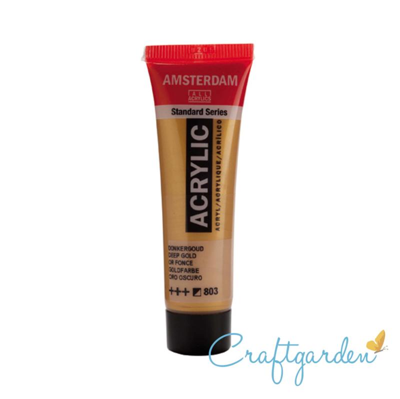Amsterdam - All Acrylics - 20 ml - Donker goud - 803