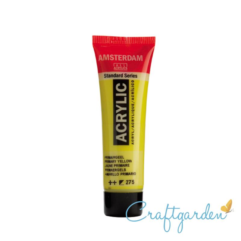 Amsterdam - All Acrylics - 20 ml - primair geel - 275