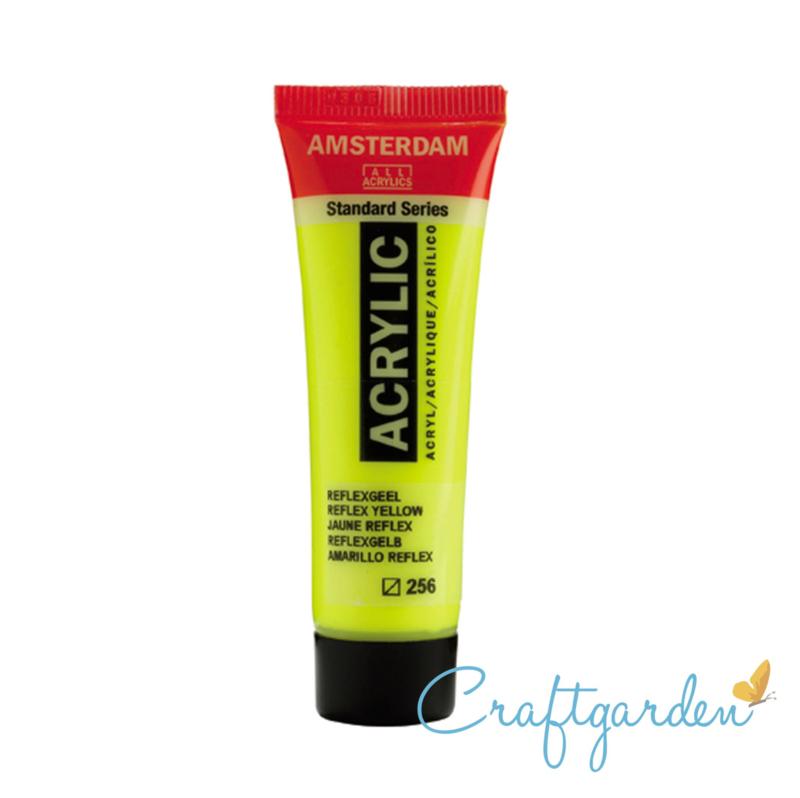 Amsterdam - All Acrylics - 20 ml - Reflex geel - 256