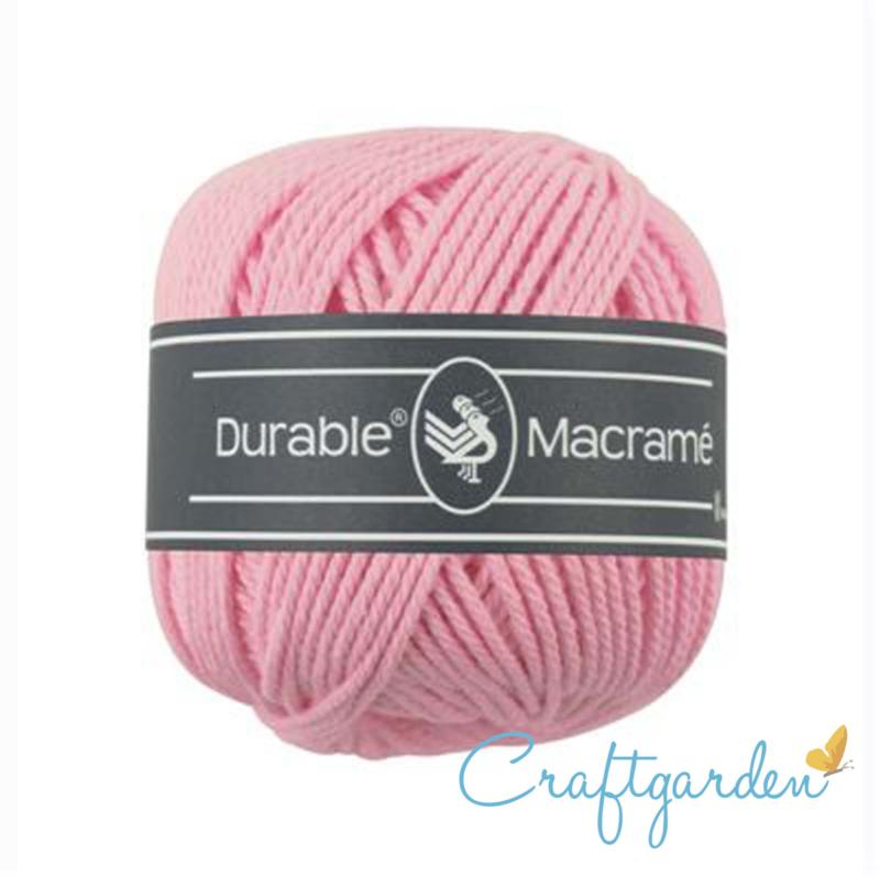 Durable - macramé - roze - 232