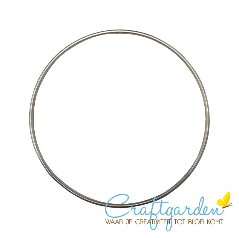 Metalen ring - doorsnede - 30 cm - 1 stuk