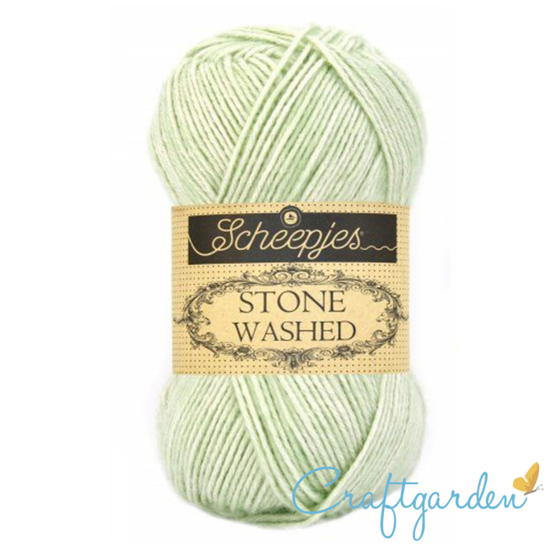 Scheepjes - Stone washed - garen -  New Jade - 819
