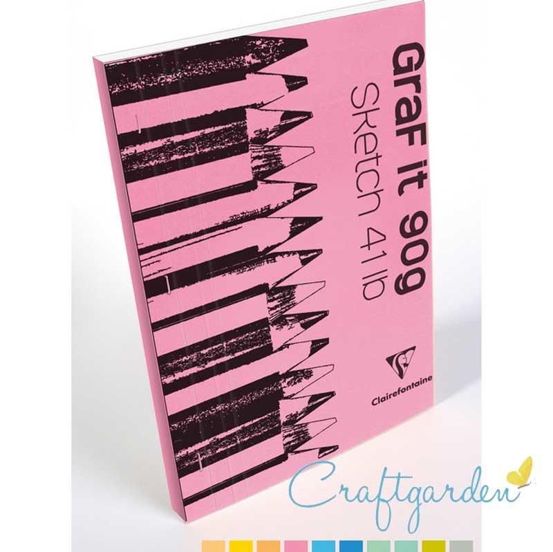 Clairefontaine - Graf it - 90 gram - schetsboek - A3