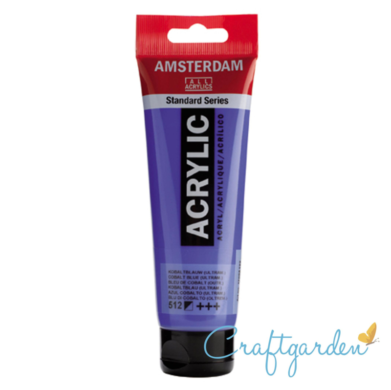Amsterdam - All Acrylics - 120 ml - kobaltblauw (ultram.) - 512