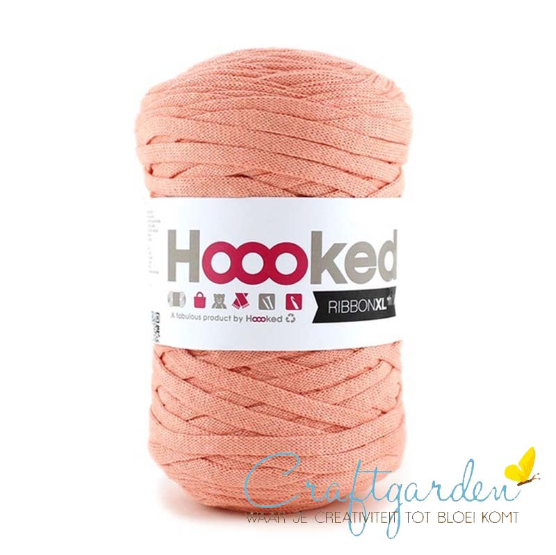 Hoooked-RIBBONXL-250 gram -iced apricot