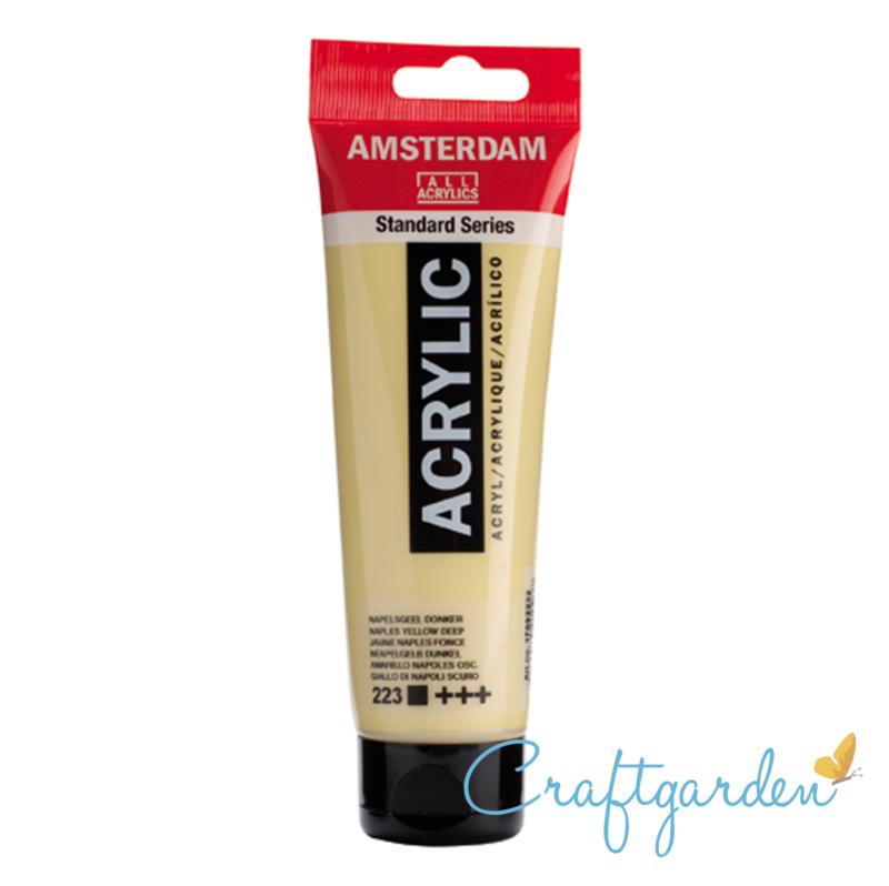 Amsterdam - All Acrylics - 120 ml - napels geel - donker - 223