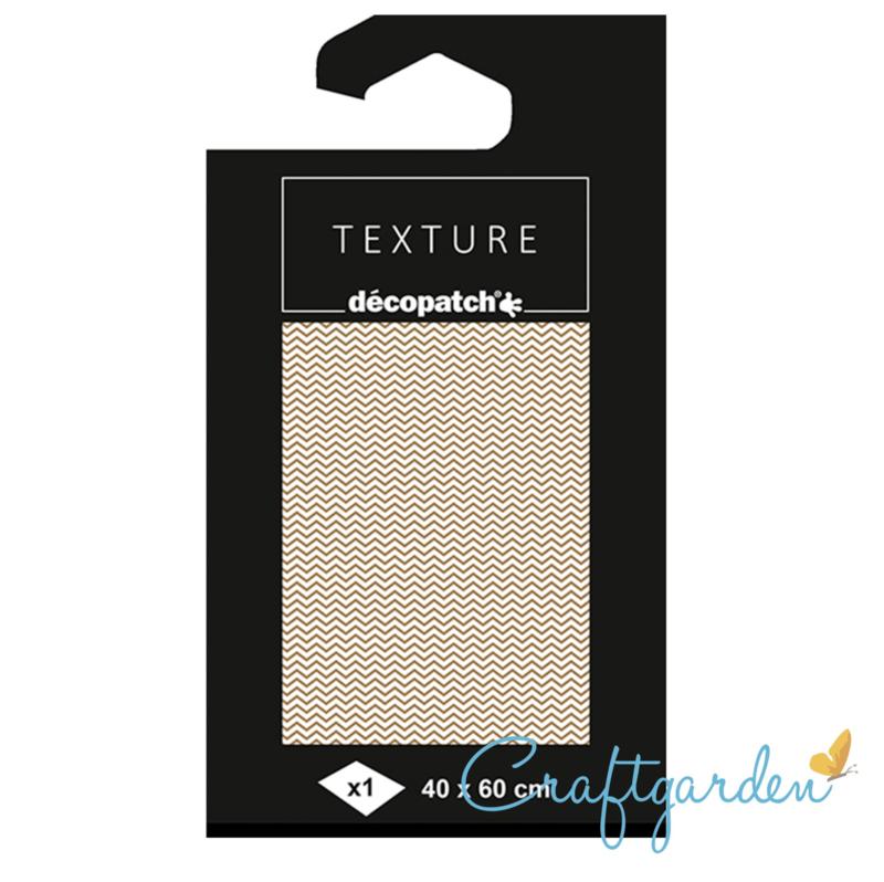Decopatch - papier - textuur - chevron - 780