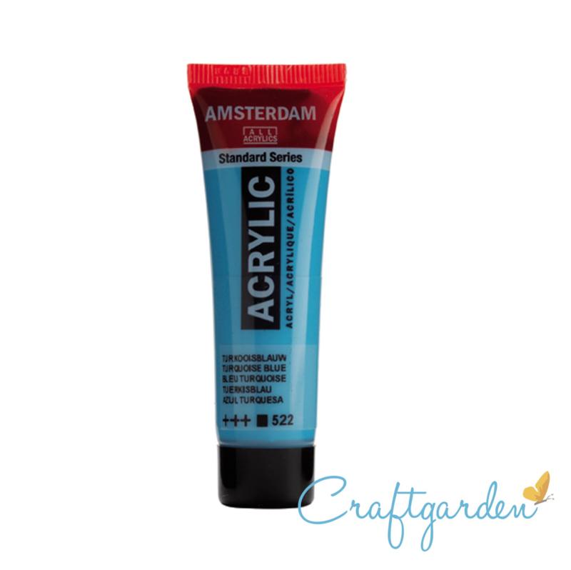 Amsterdam - All Acrylics - 20 ml - Turkoois blauw - 522