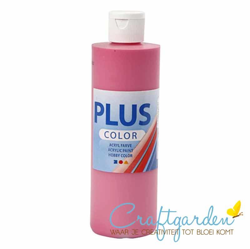 Plus color - acryl - Verf - 250 ml - Fuchsia