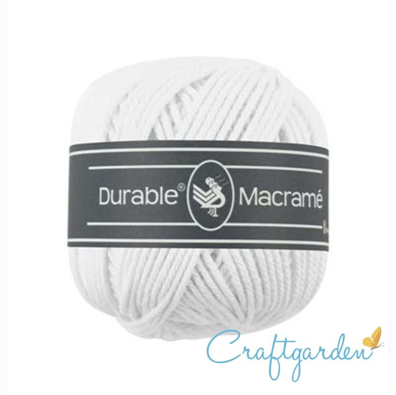 Durable - macramé - wit - 310