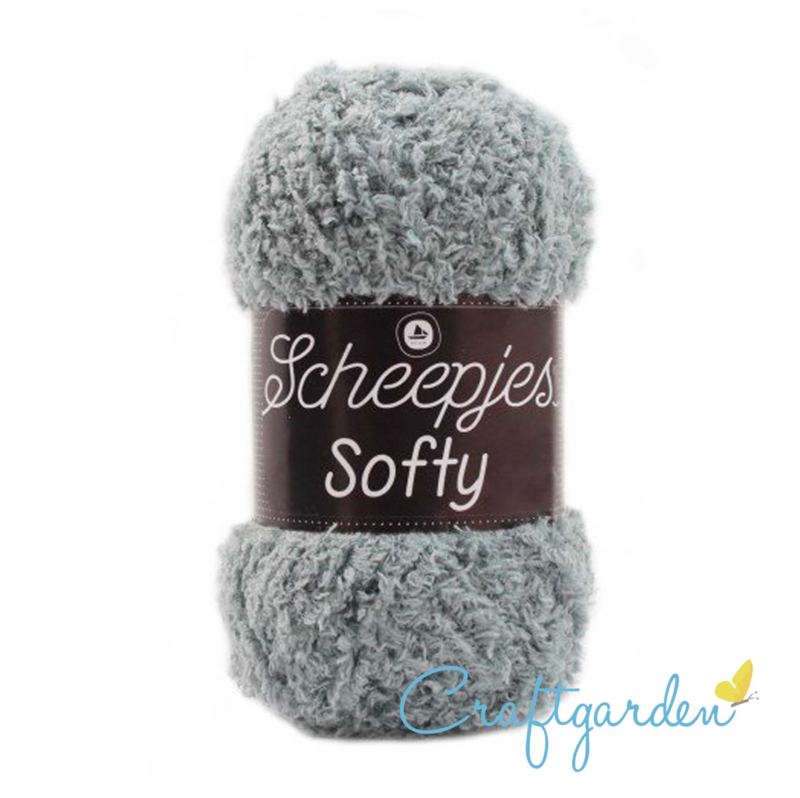 Scheepjes - Softy - muis grijs  - 477