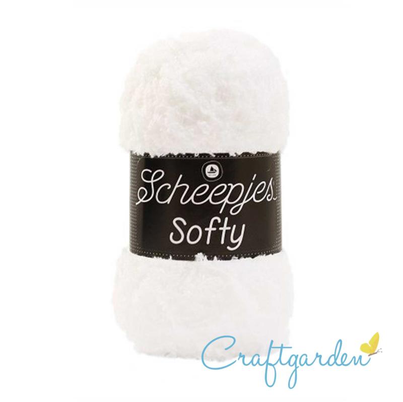 Scheepjes - Softy - wit - 494