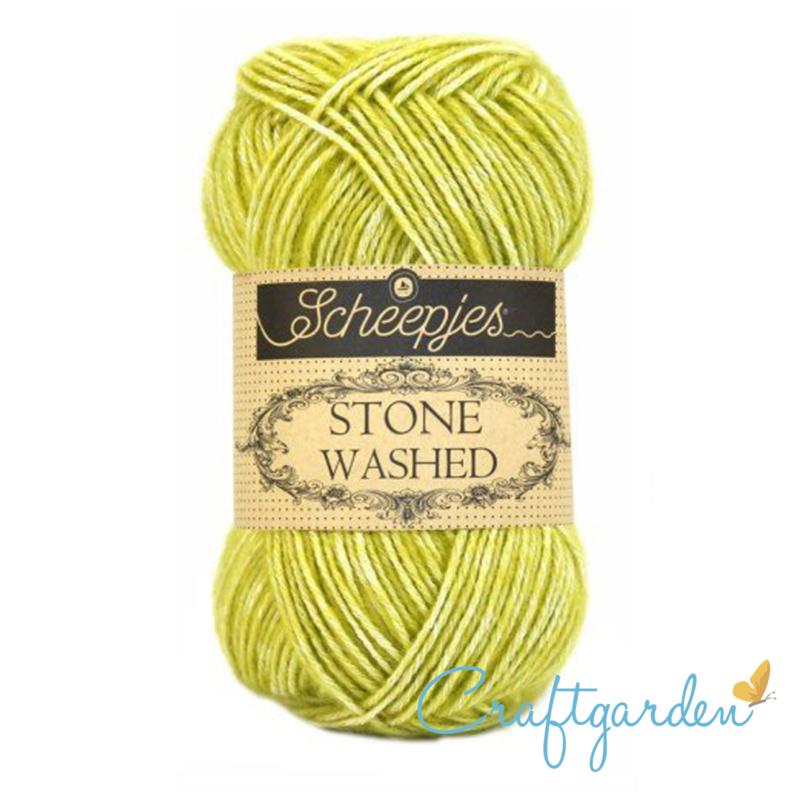 Scheepjes - Stone washed - garen -  Lemon Quartz - 812