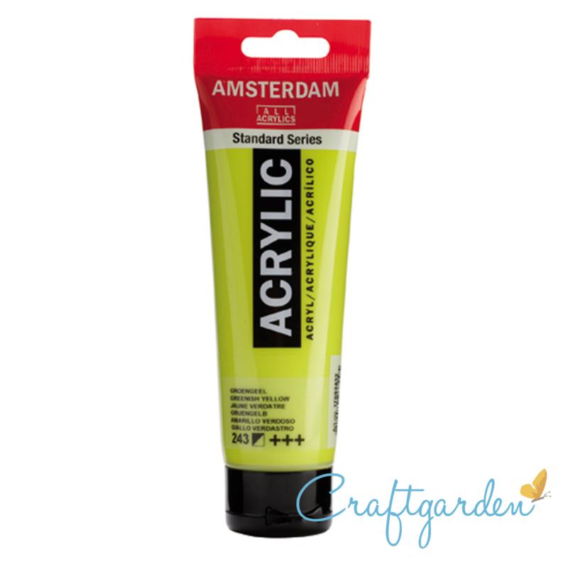Amsterdam - All Acrylics - 120 ml - groen geel - 243
