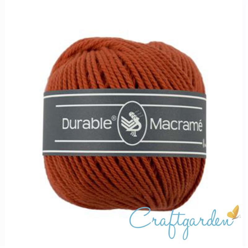 Durable - macramé - steen rood - 2239