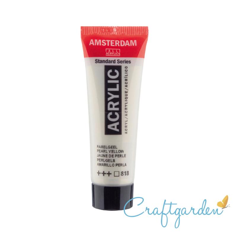 Amsterdam - All Acrylics - 20 ml - Parel geel - 818