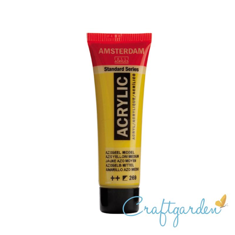 Amsterdam - All Acrylics - 20 ml - azogeel middel - 269