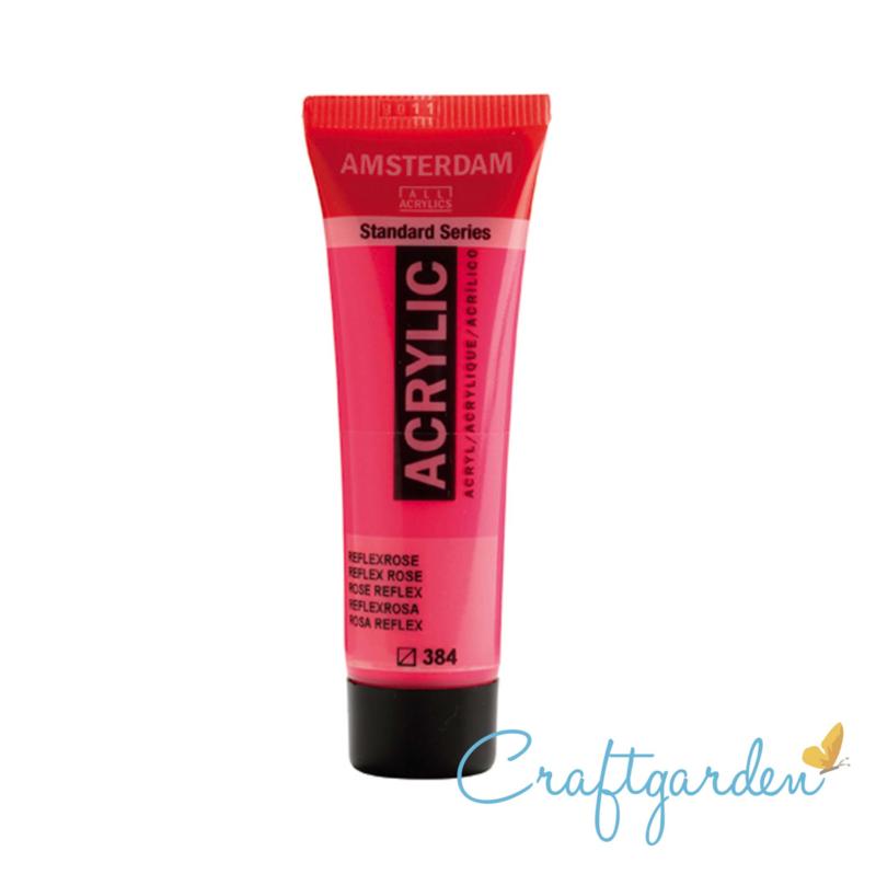 Amsterdam - All Acrylics - 20 ml - Reflex rose - 384