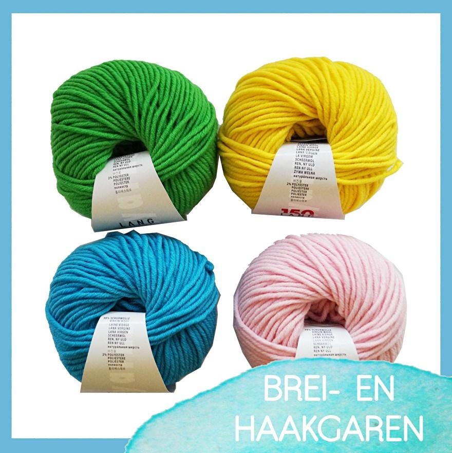 Craftgarden - breigaren - haakgaren - katoen - wol - acryl