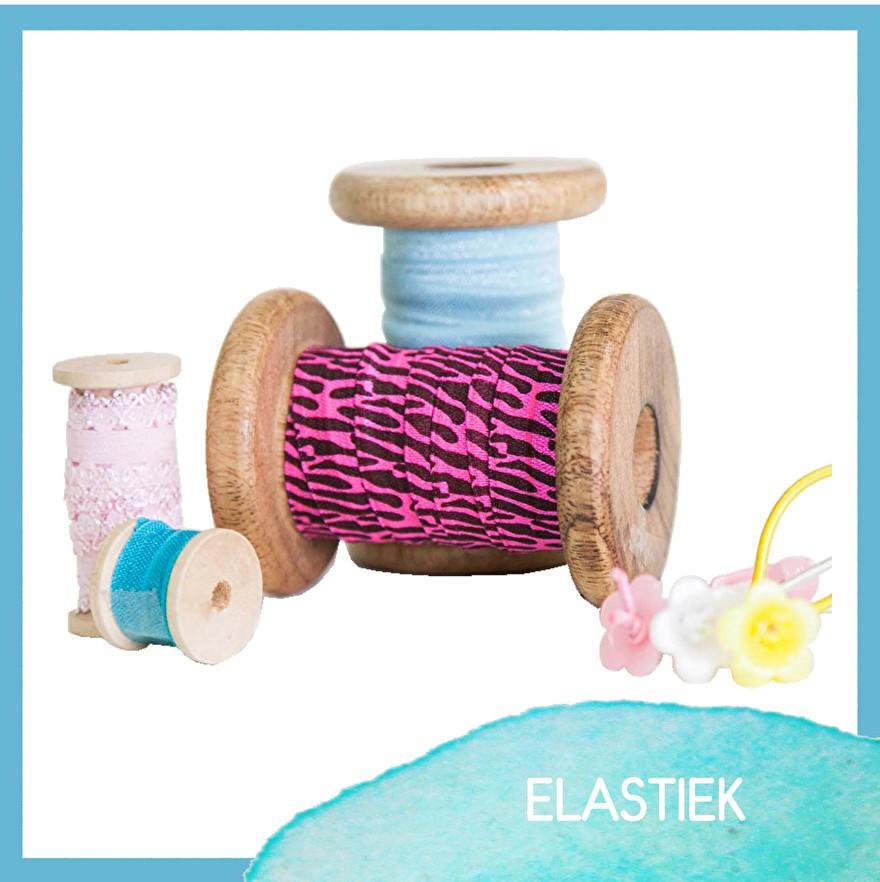 elastiek - haarband elastiek - foe - kant elastiek -