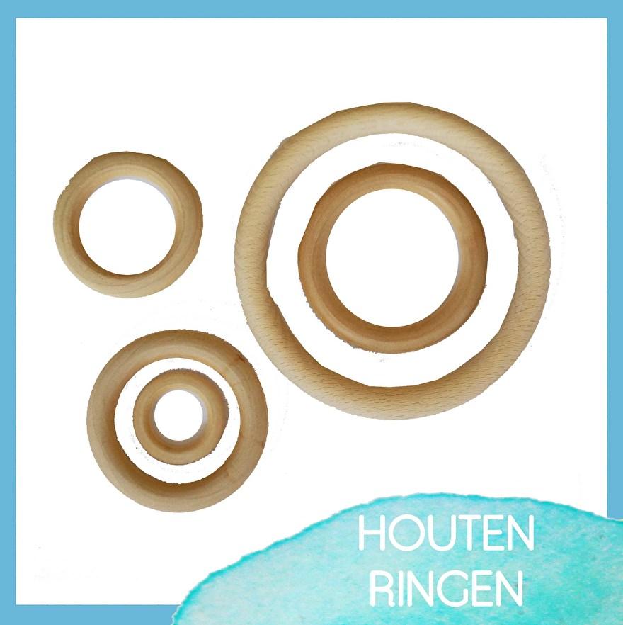 houten - onderdelen - huten - ringen -