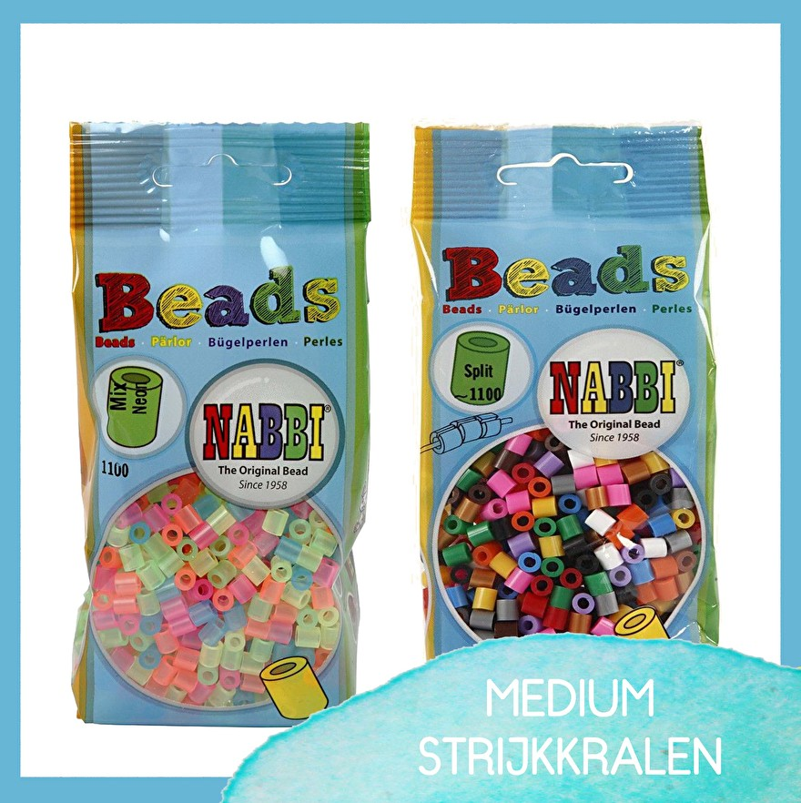 craftgarden - medium - strijkkralen