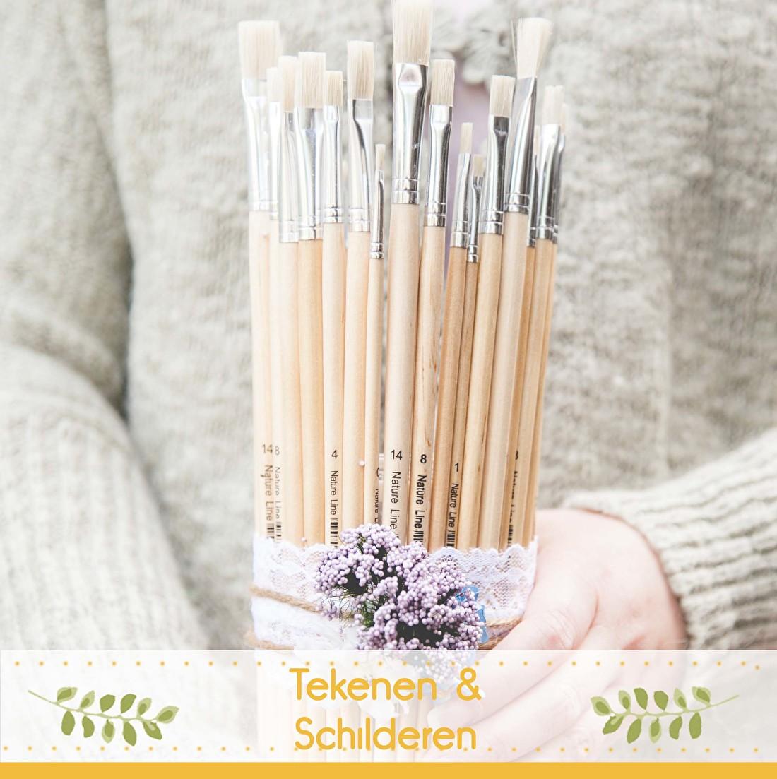 DIY projecten, tekenen en schilderen