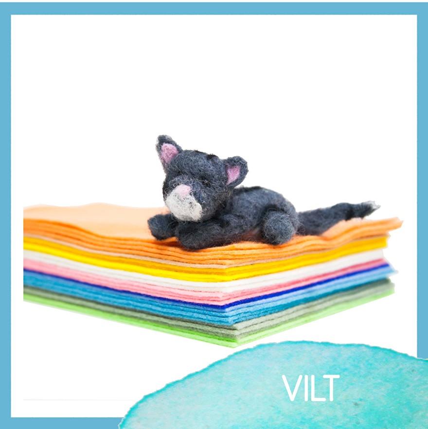 Vilt - DIY - hobbymaterialen - hobbywinkel - craftgarden