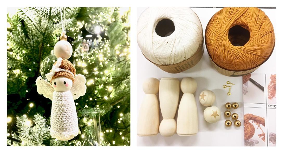 kerst-engel-patroon- houten- poppetjes