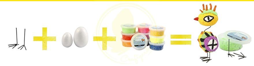 inspiratie - foam clay - uitleg - wat is foam clay - hoe werk foam clay - hoe gebruik je foam clay -