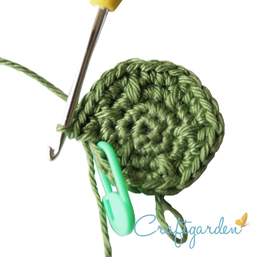patroon - cactus - speldenkussen - haken  - doosje - deksel