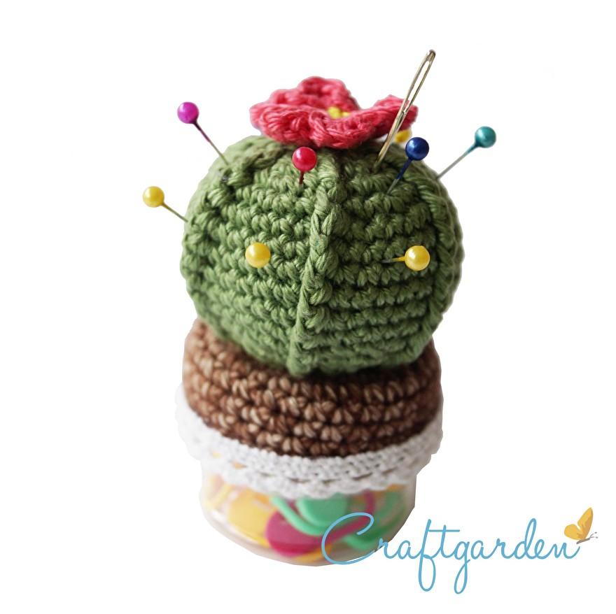 patroon - cactus - speldenkussen