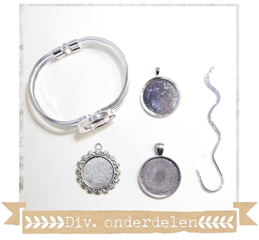 sieraden - onderdelen - diy - materialen - kralen - onderdelen - cabochon armband - hangers- foto sieraden - craftgarden