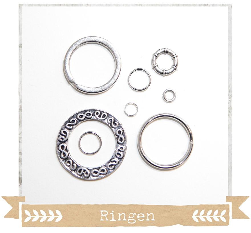 sieraden - onderdelen - diy - materialen - kralen - ringetjes - splitringen - sleutelhanger -  - craftgarden