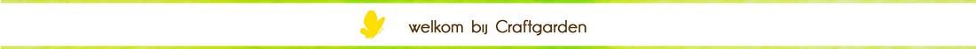 welkom bij craftgarden, de online hobby en knutselwinkel