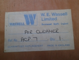 Wassell Air Cleaner
