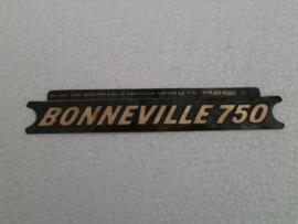 Triump Bonneville 750