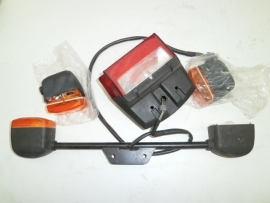 Rear light assy