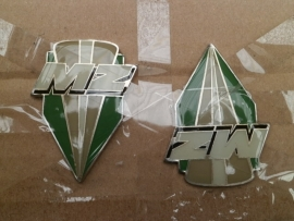 Set Tankbadge MZ