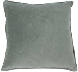 Kussen fluweel go'round Cotton velvet Silver 45x45