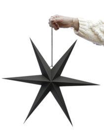 Delight Department Versiering Paper Star Set  Zwart