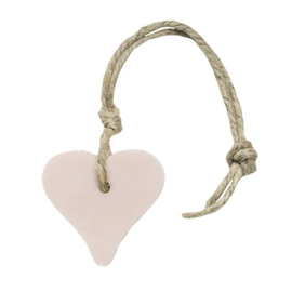 Zeep hart licht roze 55 gram Mille Fleurs