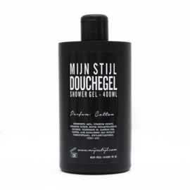 Douchegel Cotton zwart 400ml