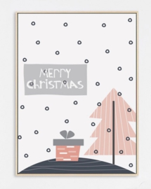 Nordic Canvas kerst poster