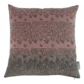 Fluweel kussen Goround oud roze Sprout Pink