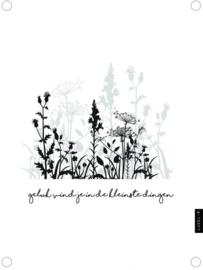 Tuinposter veldbloemen