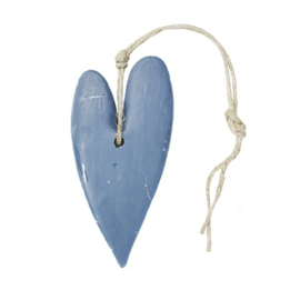 Zeep Hart XL donker Blauw