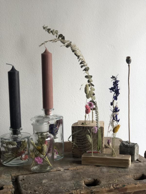 Workshop droogbloemen decoraties (3 Stuks)