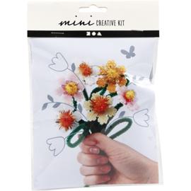 boeketje bloemen (zelf maken)